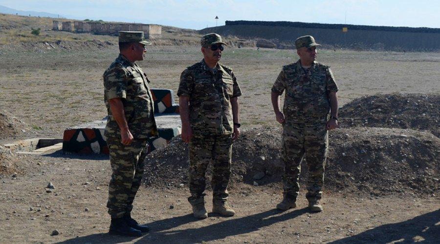 Quru Qoşunları Komandanlığının bir neçə hərbi obyekti istifadəyə verildi - VİDEO